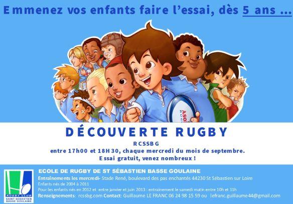 decourverte rugby