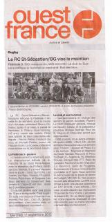 RCSSBG Ouest France 12092012 001