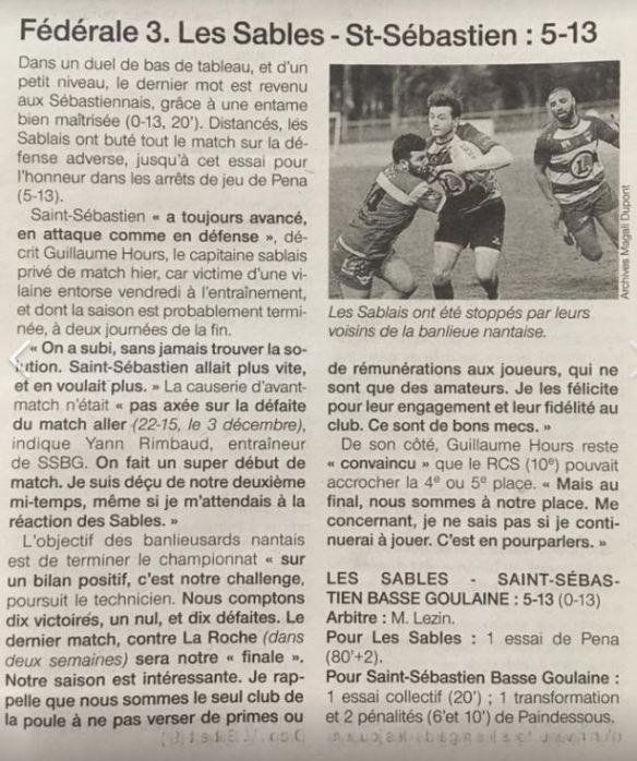 presse rugby
